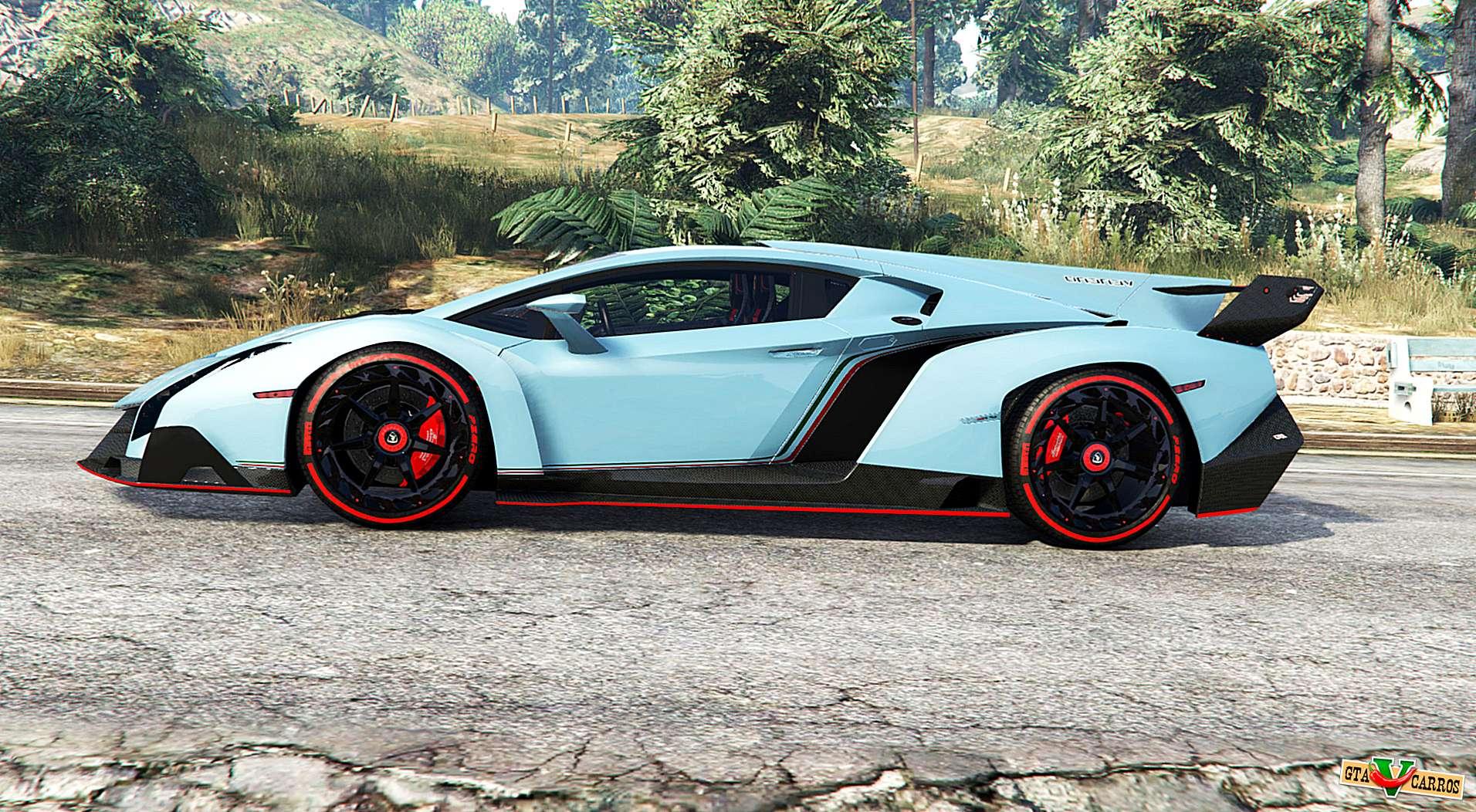 Lamborghini Veneno 2013 V1 1 Replace